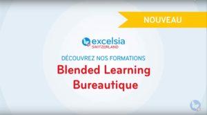 Vidéo Blended Learning bureautique Suisse